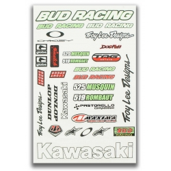 Consiglio autocolant - BUD Racing