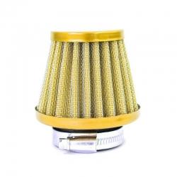 Filtro aria in acciaio ø38mm - Golden