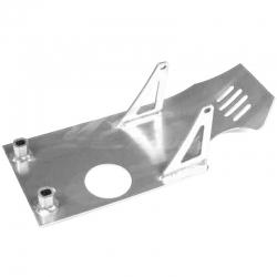 Piastra paramotore in alluminio - Cromo