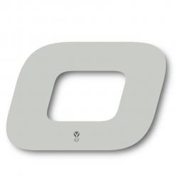 N. 0 Numero di targa YCF Bianco - 117x172mm (venduti da 3)