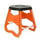 A Base Di Moto Da Corsa Arancione