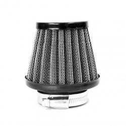 Filtro aria in acciaio ø38mm - Nero