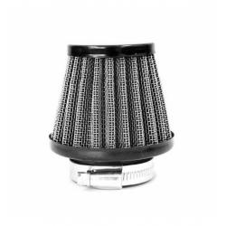 Filtro aria in acciaio ø35mm - Nero
